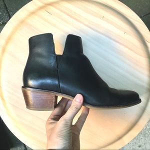 Cole Haan Abbot Leather Ankle Booties